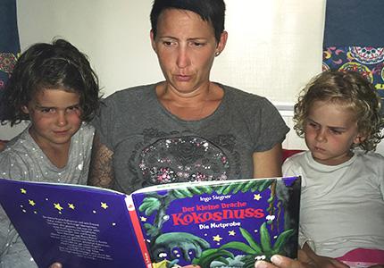 bücher lesen im urlaub
