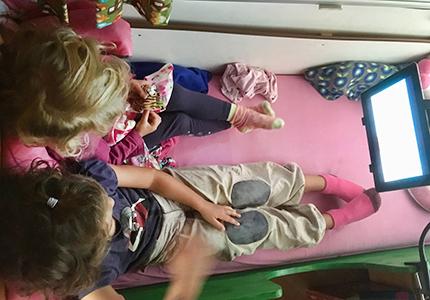 fernsehen im wohnwagen